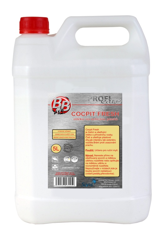 BB Kokpit Excelent fresh - cocpit spray 5 l
