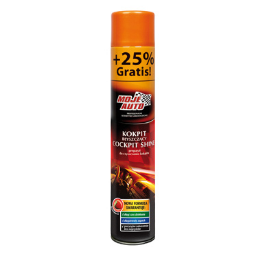 Moje Auto Cockpit Shine Strawberry 750 ml spray - čistič kokpit, interiéru