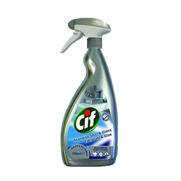 Cif Professional Stainless Steel & Glass 750ml