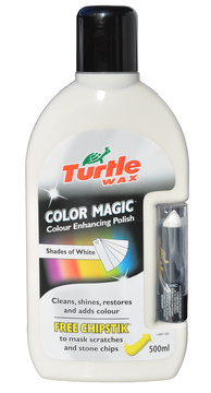 Color magic shades of white - bílý vosk 500 ml + opravná tyčinka