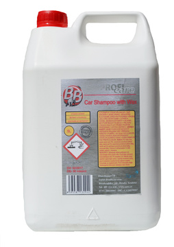BB Car Shampoo with wax - autošampon s voskem 5 l