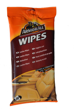 Armor All Leather Wipes -  ubrousky na kůži - matné 20ks
