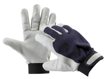 730c3e200b7 Pracovní rukavice PELICAN BLUE - 9 kombi.