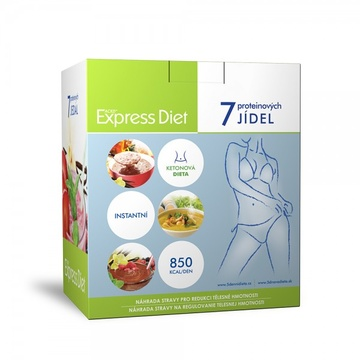 Good Nature Express Diet proteinová dieta 7 x 60 g