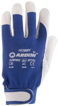 e4bc8ac8746 Pracovní rukavice HOBBY ARDON - kombinov.