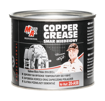 COOPER GREASE - Měděné mazivo 500 ml