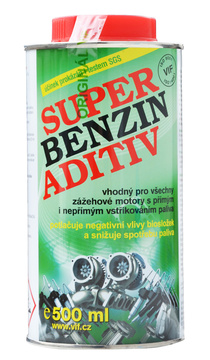 Super benzin aditiv - aditivum do benzínu 500 ml