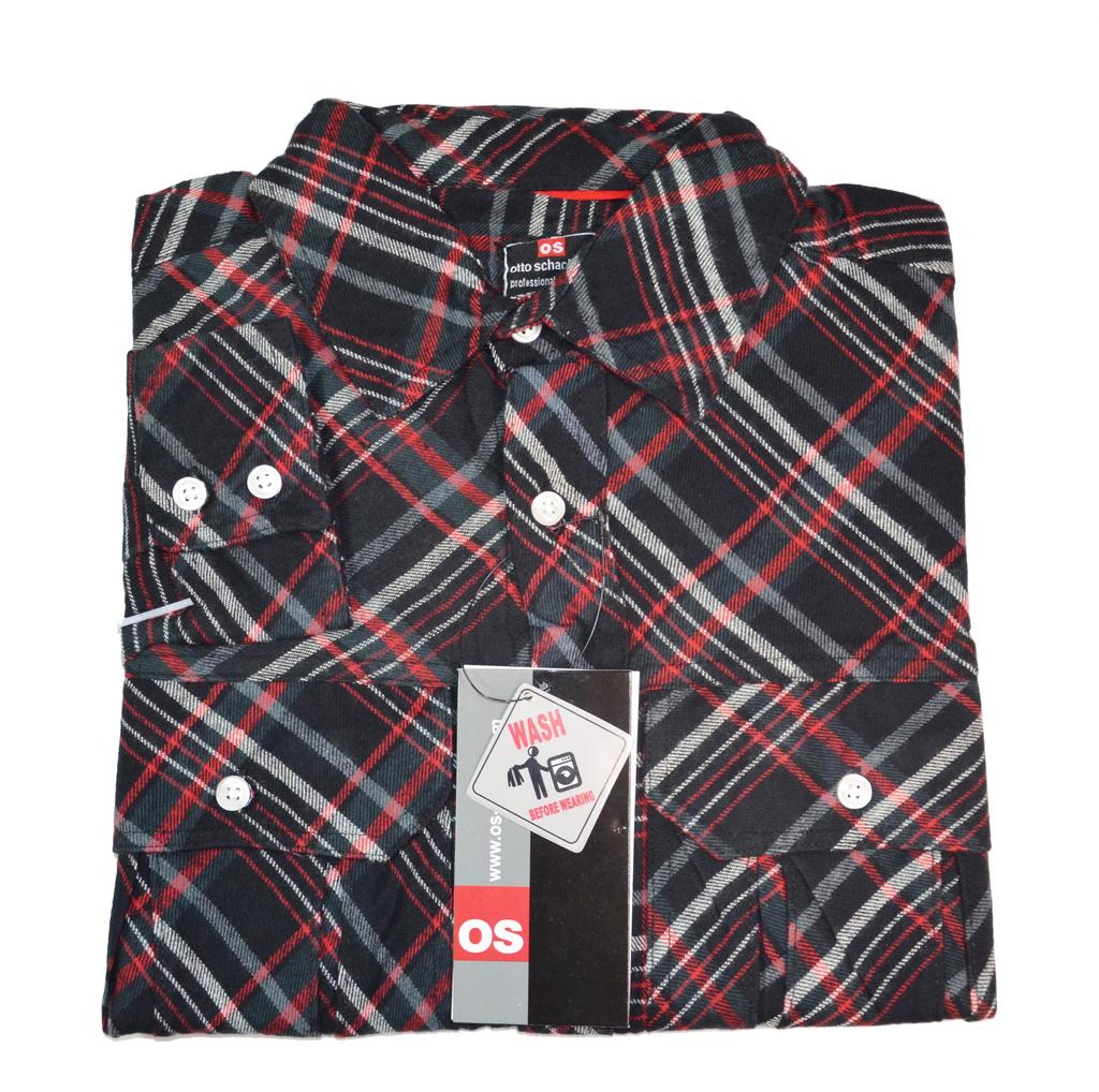 Pánská flanelová košile RIBE dbb7e73bb3