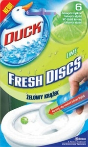 WC DUCK Fresh Discs - gel s dávkovačem citron 36 ml