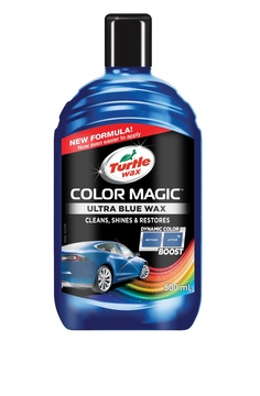 Color Magic shades of blue - tmavě modrý vosk 500 ml